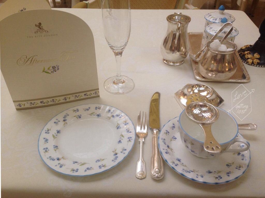 High tea at the Ritz London England