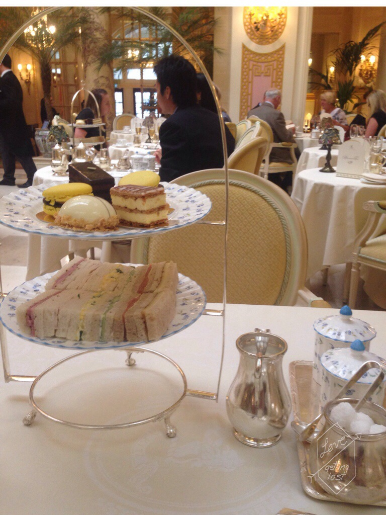 Afternoon tea at the Ritz London England