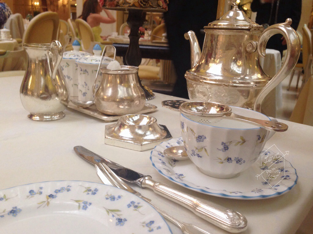 tea at the Ritz London England