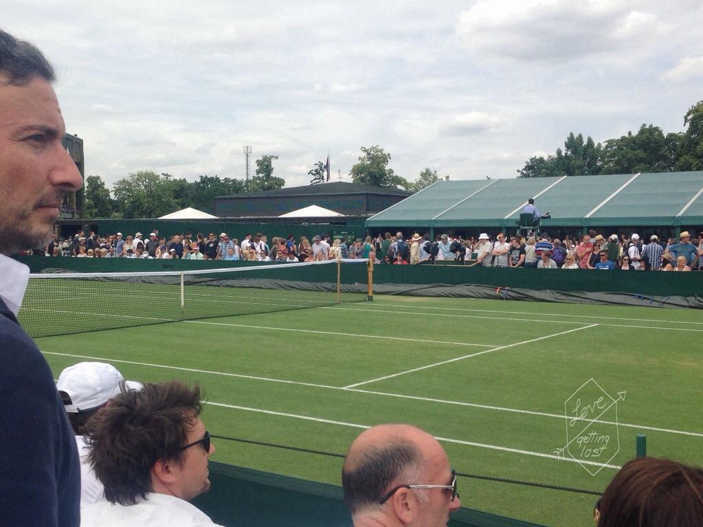 courts at Wimbeldon London England