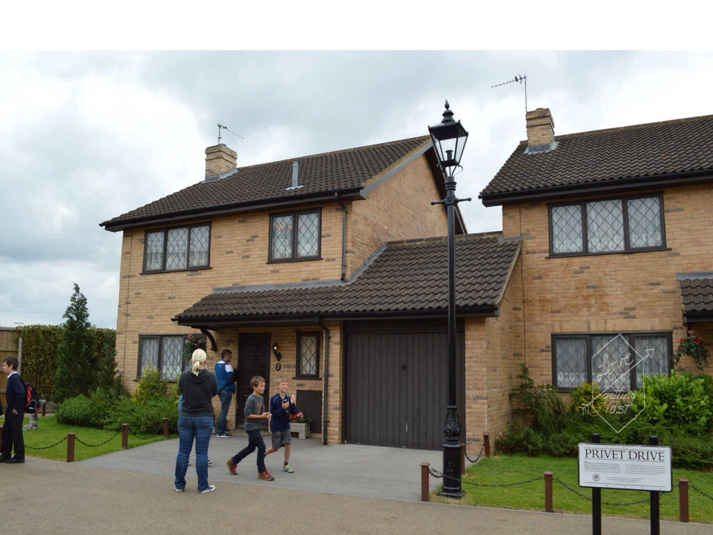 Privet Drive Harry Potter Studio tours Watford England