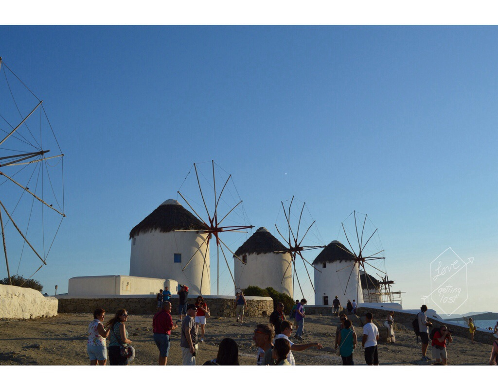Windmills Mykonos Greece