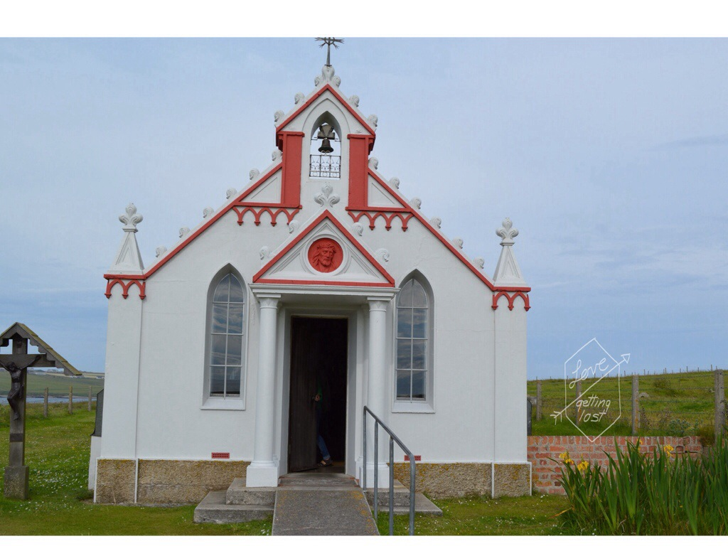 The Italian Chaple Orkney Islands Scotland