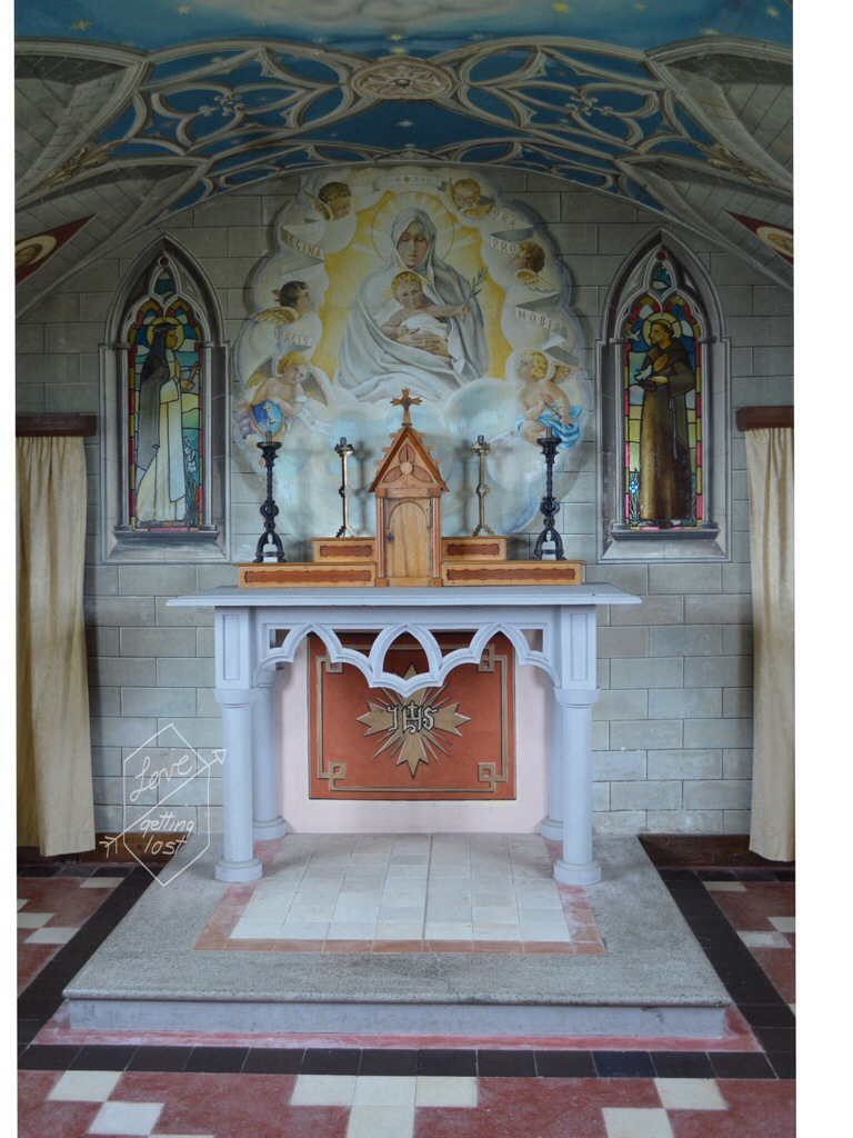 Alter the Italian Chaple Orkney Islands Scotland