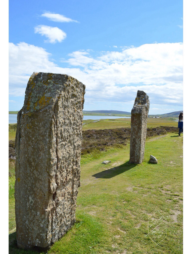 Standing stones, Orkney Islands, Scotland