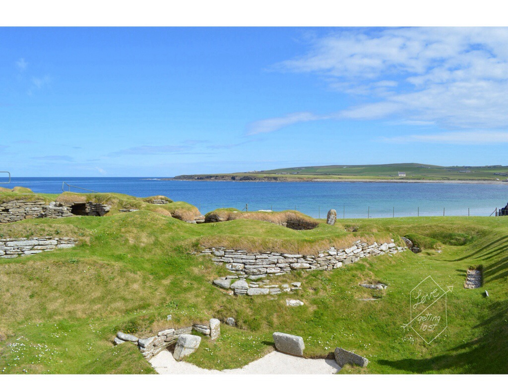 Skara Brae neolithic community, orkney islands, Scotland
