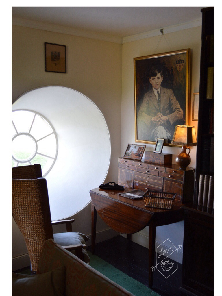Skaill house sitting room, Orkney Islands, Scotland