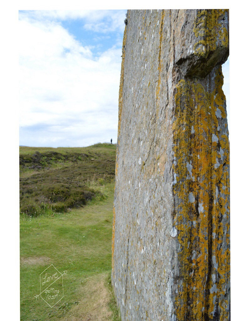 standing stone circle, Orkney Islands, Scotland
