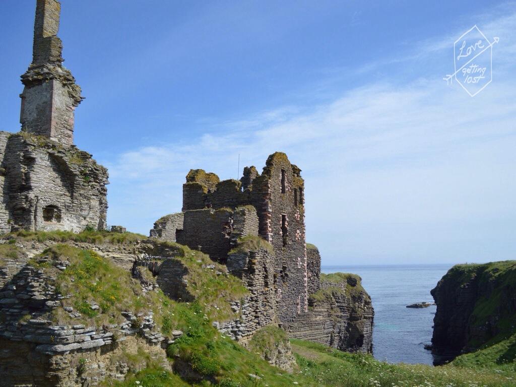 Sinclair Girnigoe Castle, highlands, scotland, united Kingdom