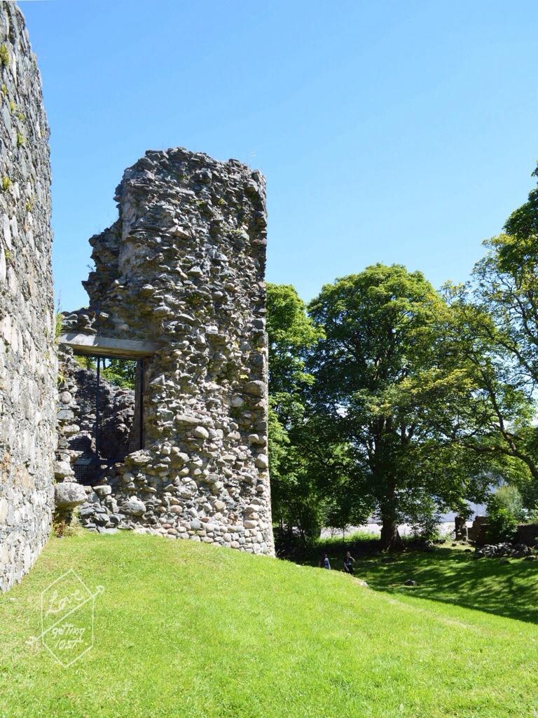 Inverlochy Castle tower, Fort William, Scotland, United Kingdom