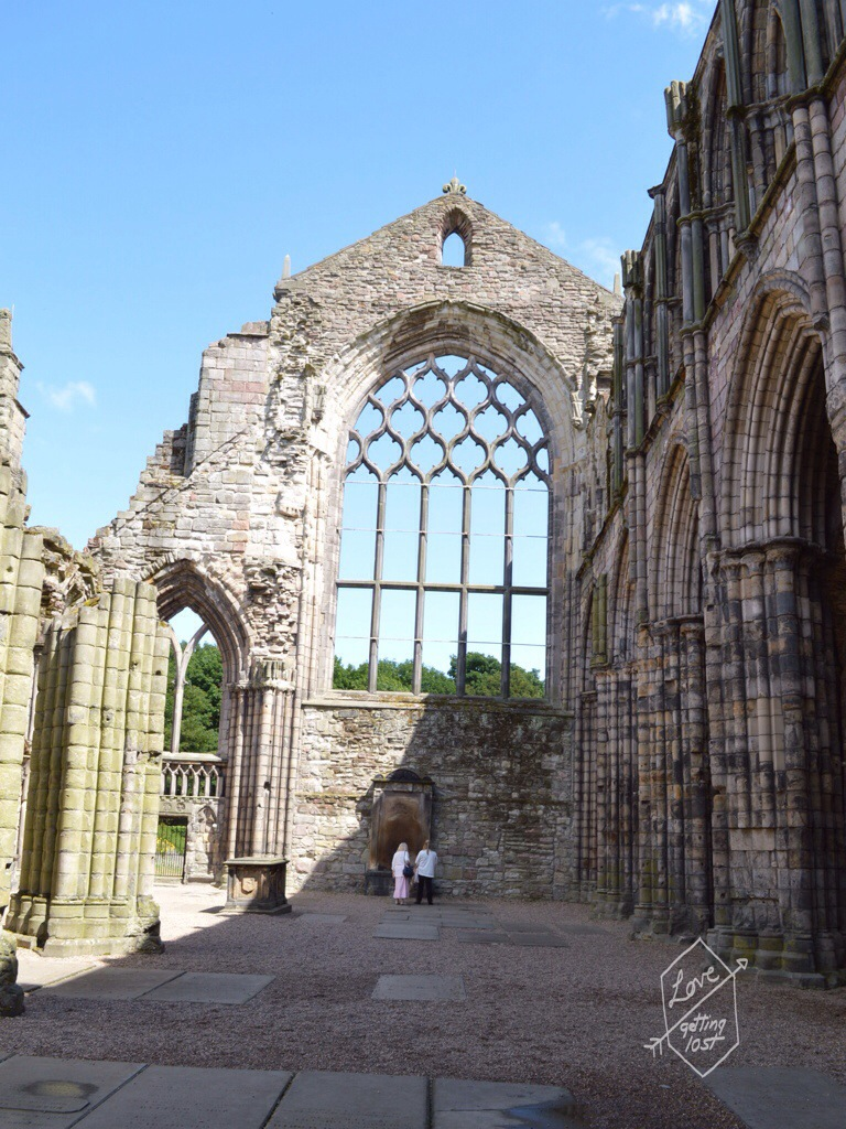 Holyrook Abbey, Holyrook palace, edinburg, scotland, united kingdom