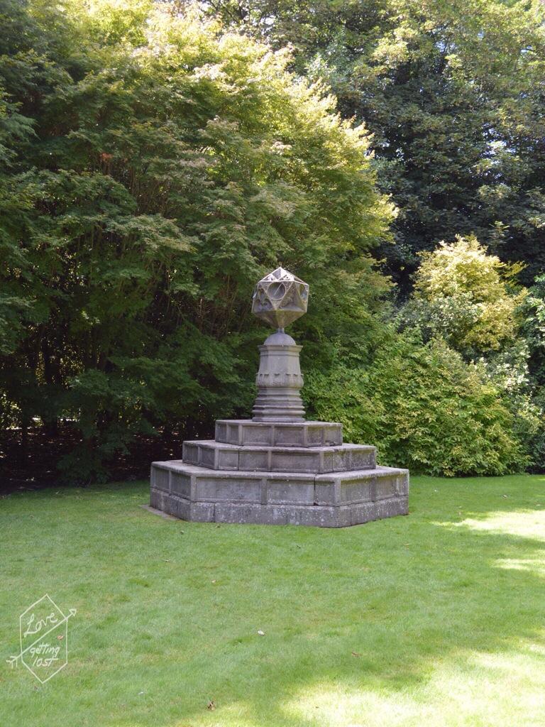 Holyrook gardens , Holyrook palace, edinburg, scotland, united kingdom