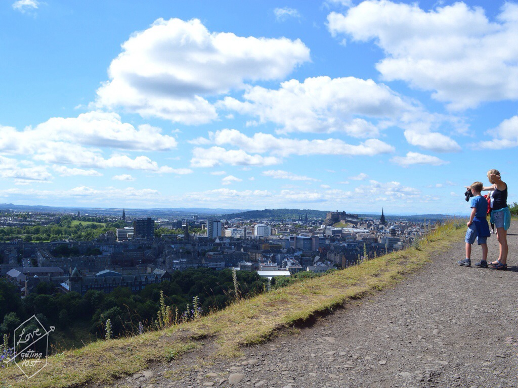 Walk to Artur's Seat , Edinburgh, Scotland, United Kingdom