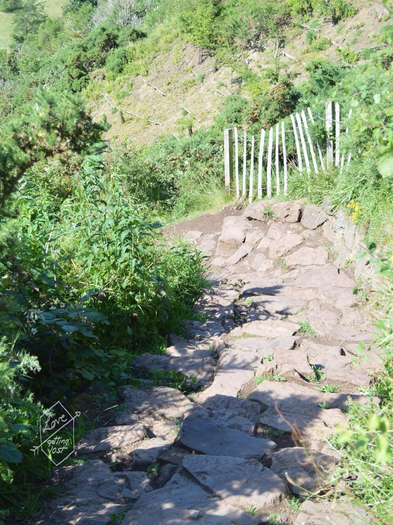 Path down from Arthur's seat  , Edinburgh, Scotland, United Kingdom