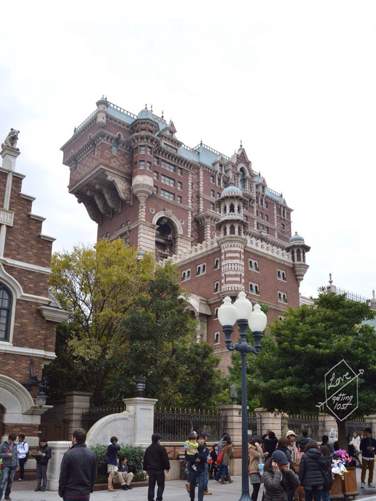 Tower of Terror, American Waterfront, Disneyland Sea, Tokyo, Japan