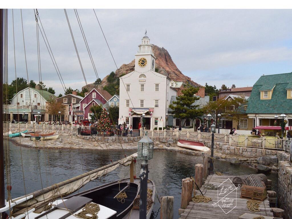 Cape Cod, American Waterfront, Disneyland Sea, Tokyo, Japan