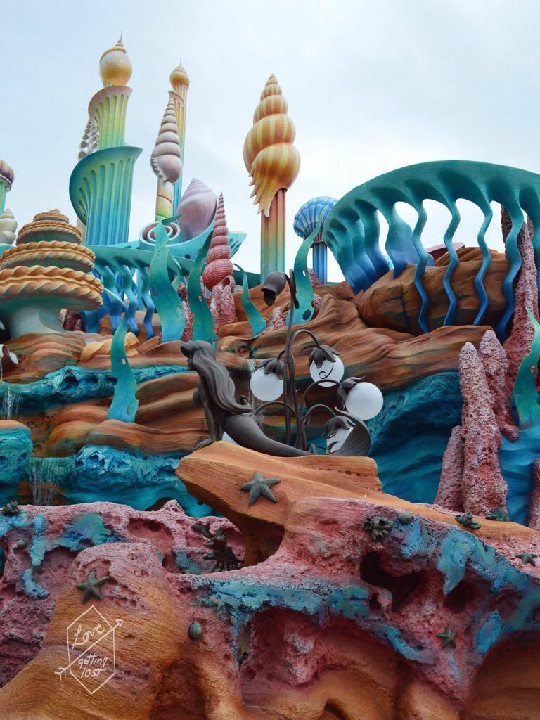 Ariel's Grotto, Mermaid Lagoon, Disneyland Sea, Tokyo, Japan