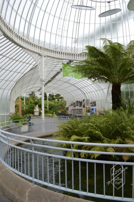 Kibble Palace Glasshouse, Glasgow Botanic Gardens, Glasgow, Scotland.