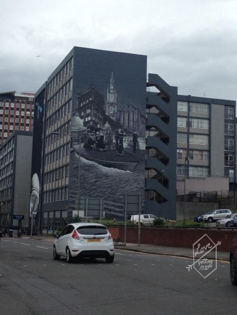 Street art, Glasgow, Scotland