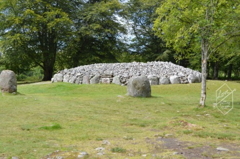 Tomb cairn, Clava Cairns, Inverness greater area, Scotland