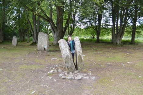 Split stone, Clava Cairns, Inverness greater area, Scotland