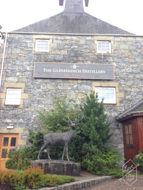 Malt Barn Restaurant, Glenfiddich Distillery,Dufftown, Scotland