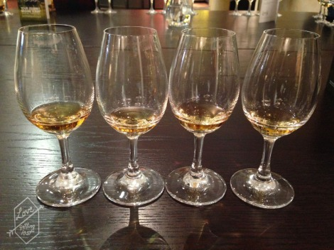 Whisky tasting, Glenfiddich Distillery, Dufftown, Scotland