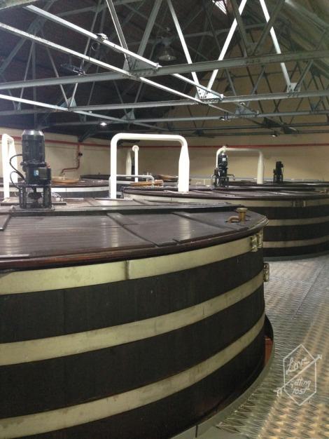 Mash Tun, Glenfiddich Distillery, Dufftown, Scotland