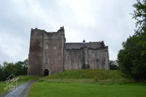 Front facade, Doune Castle, Doune, Scotland