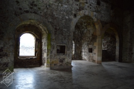 Upstairs floor, Doune Castle, Doune, Scotland