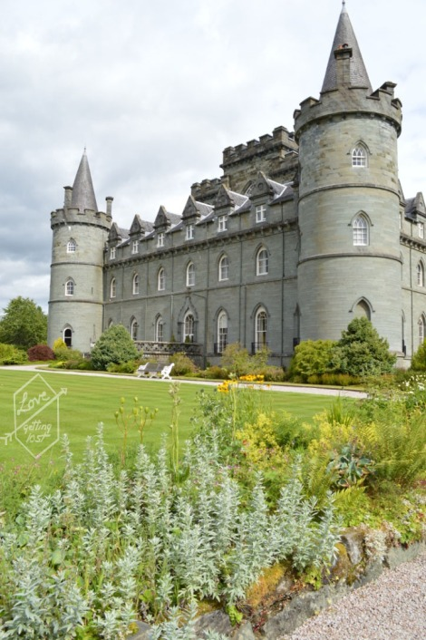 Gardens, Inveraray Castle, Inveraray, Scotland