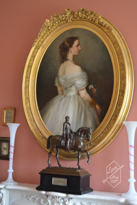 Portrait in the Victoria Room, Inveraray Castle, Inveraray, Scotland