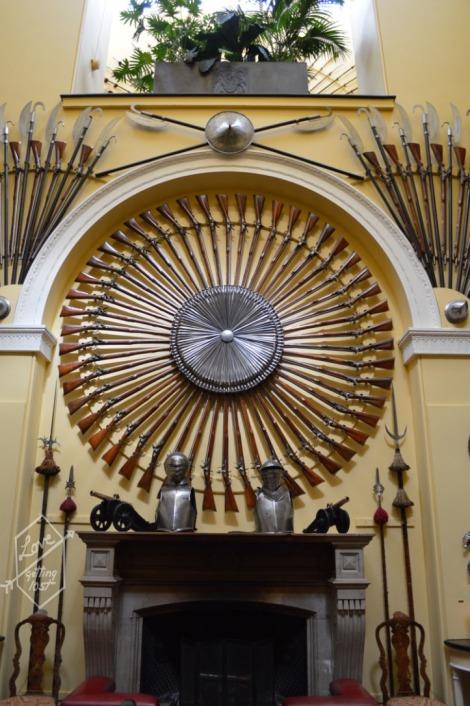 Armoury Hall, Inveraray Castle, Inveraray, Scotland