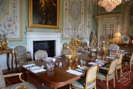 State Dining room, Inveraray Castle, Inveraray, Scotland