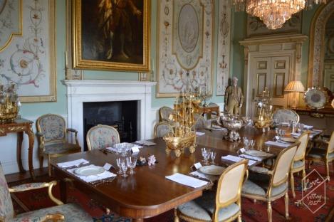 State Dining room, Inveraray Castle, Inveraray, Scotland