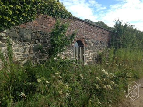 Walled Garden, Lunga Estate, Argyll, Scotland